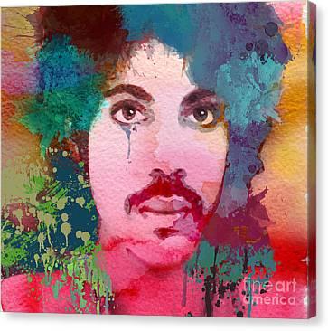 R.i.p Canvas Print - Portrait Of Prince by Irina Effa