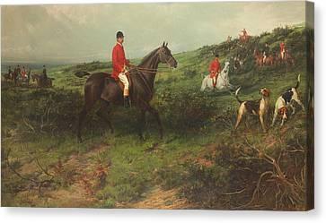 Portrait Of Richard James Streatfeild Canvas Print