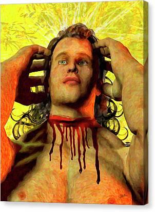 Portrait Of Saint Cosme Canvas Print