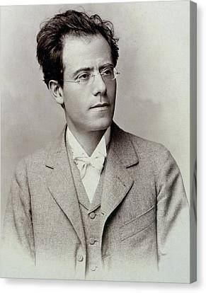 Portrait Photograph Of Gustav Mahler Canvas Print