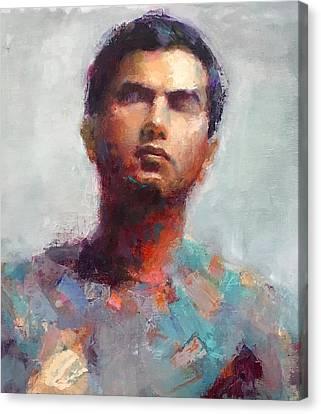 Portrait Canvas Print by Swasti Jain