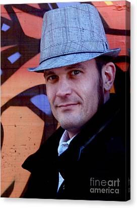 Portrait1 Canvas Print by Dan Terry