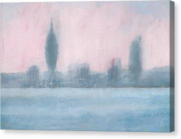 Portsmouth Dawn Part Six Canvas Print by Alan Daysh