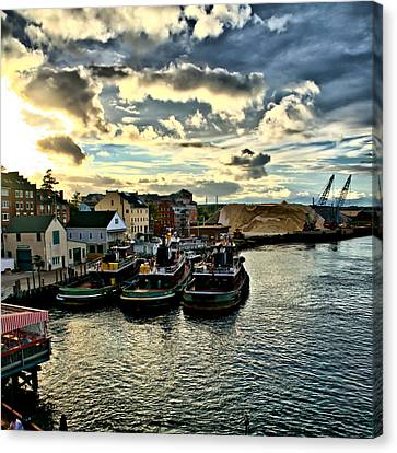 Portsmouth Harbor 2 Framed Print Can Be Seen On Set Of Abcs Desperate Housewives Canvas Print