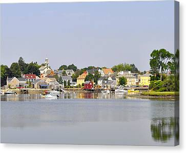 Portsmouth Nh South End Psep Canvas Print