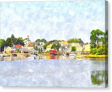 Portsmouth Nh South End Psewc Canvas Print