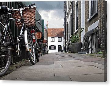 Canvas Print featuring the photograph Portugal Place Cambridge by Gill Billington