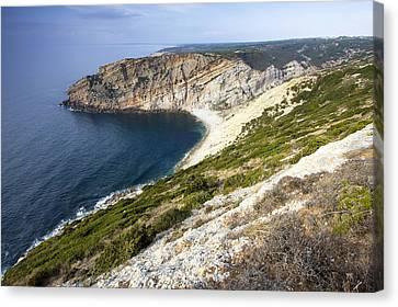 Portuguese Coast Canvas Print by Andre Goncalves