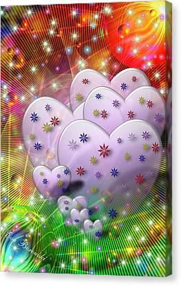 Porzellanblumen Canvas Print