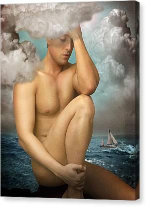 Poseidon Canvas Print by Mark Ashkenazi