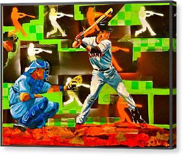 Posey's Pop Canvas Print by Robert Marosi Bustamante