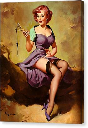 Canvas Print - Posing With Sling by Long Shot