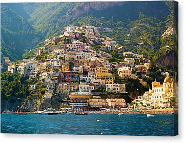 Italian Landscapes Canvas Print - Positano  by Francesco Riccardo  Iacomino