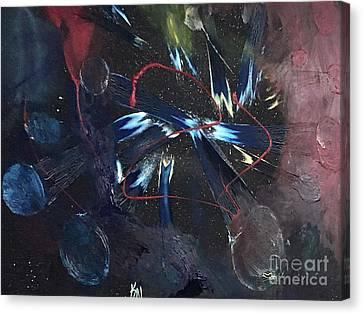 Canvas Print - Positive Energy by Karen Nicholson