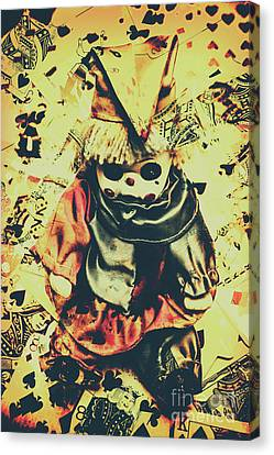 Possessed Vintage Horror Doll  Canvas Print by Jorgo Photography - Wall Art Gallery