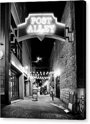 Post Alley Canvas Print