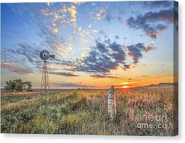 Post Rock Country Canvas Print