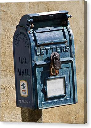 Postbox 61419 Canvas Print by Michael Flood