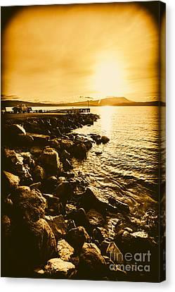 Postcard Perfect Tasmania Canvas Print by Jorgo Photography - Wall Art Gallery
