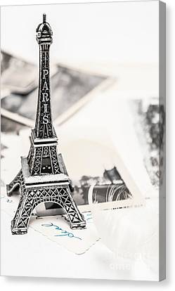 Postcards And Letters From Paris Canvas Print by Jorgo Photography - Wall Art Gallery