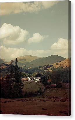 Postcards From Scotland Canvas Print by Jaroslaw Blaminsky