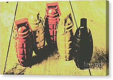 Posterized Granade Art Canvas Print by Jorgo Photography - Wall Art Gallery