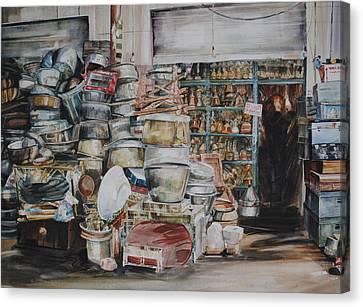 Pot-pourii Canvas Print by P Anthony Visco