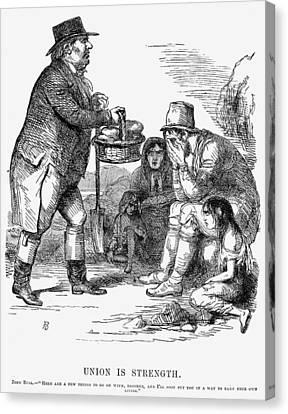 Potato Famine, 1846 Canvas Print by Granger
