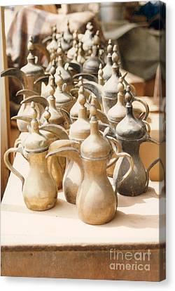 Pots For Sale Canvas Print