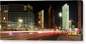 Potsdamer Place Canvas Print by Marc Huebner