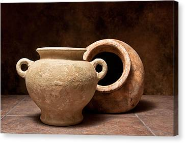 Pottery II Canvas Print by Tom Mc Nemar