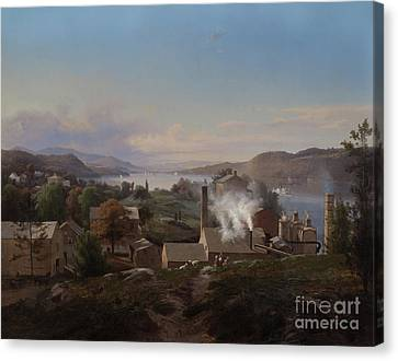 Poughkeepsie Iron Works Canvas Print