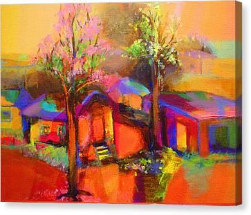 Poui Canvas Print by Cynthia McLean