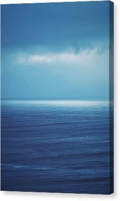 Canvas Print - Powder Blue by Skip Hunt