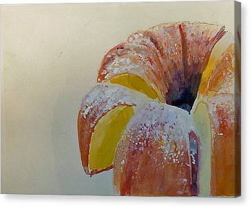 Powdered Sugar Lemon Bundt Cake Canvas Print