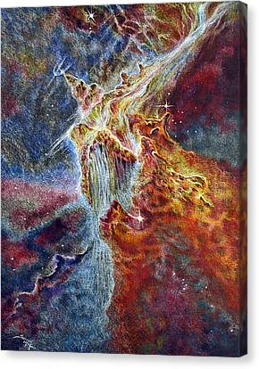 Power And Might Canvas Print