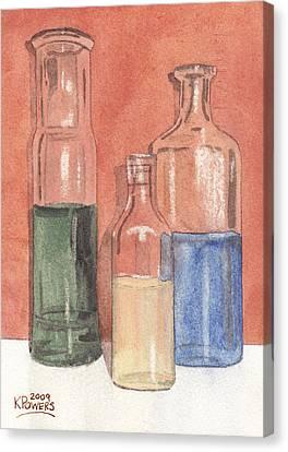 Power Failure Prescriptions Canvas Print by Ken Powers