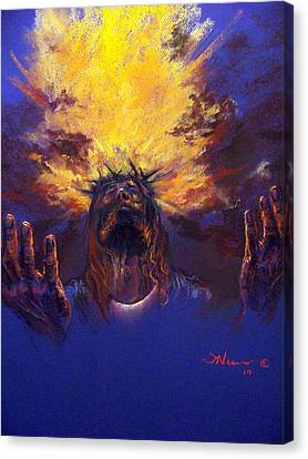 Power From On High Canvas Print by Tommy  Winn