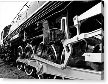 Power In The Age Of Steam Canvas Print by Dan Dooley