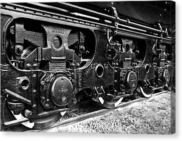 Power In The Age Of Steam 6 Canvas Print by Dan Dooley