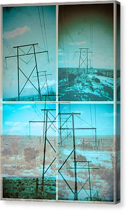 Power Line Patriots Canvas Print