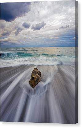 Power Of One Canvas Print by Mike Lang
