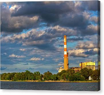 Kevin Hill Canvas Print - Power Plant by Kevin Hill