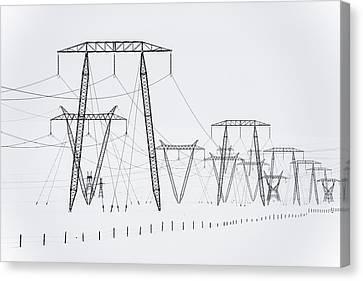 Power Canvas Print by Renate Kienbacher