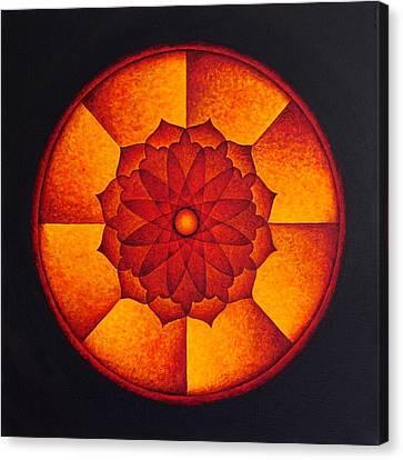 Power Wheel Canvas Print
