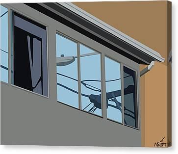 Power Windows Canvas Print