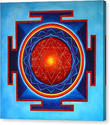 Power Yantra Canvas Print