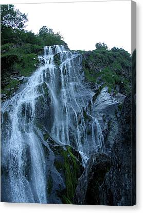 Powers Court Waterfall Canvas Print