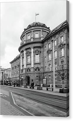 Poznan University Of Medical Sciences Canvas Print