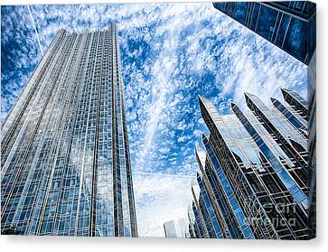 Ppg Place Pittsburgh Pennsylvania Canvas Print by Amy Cicconi